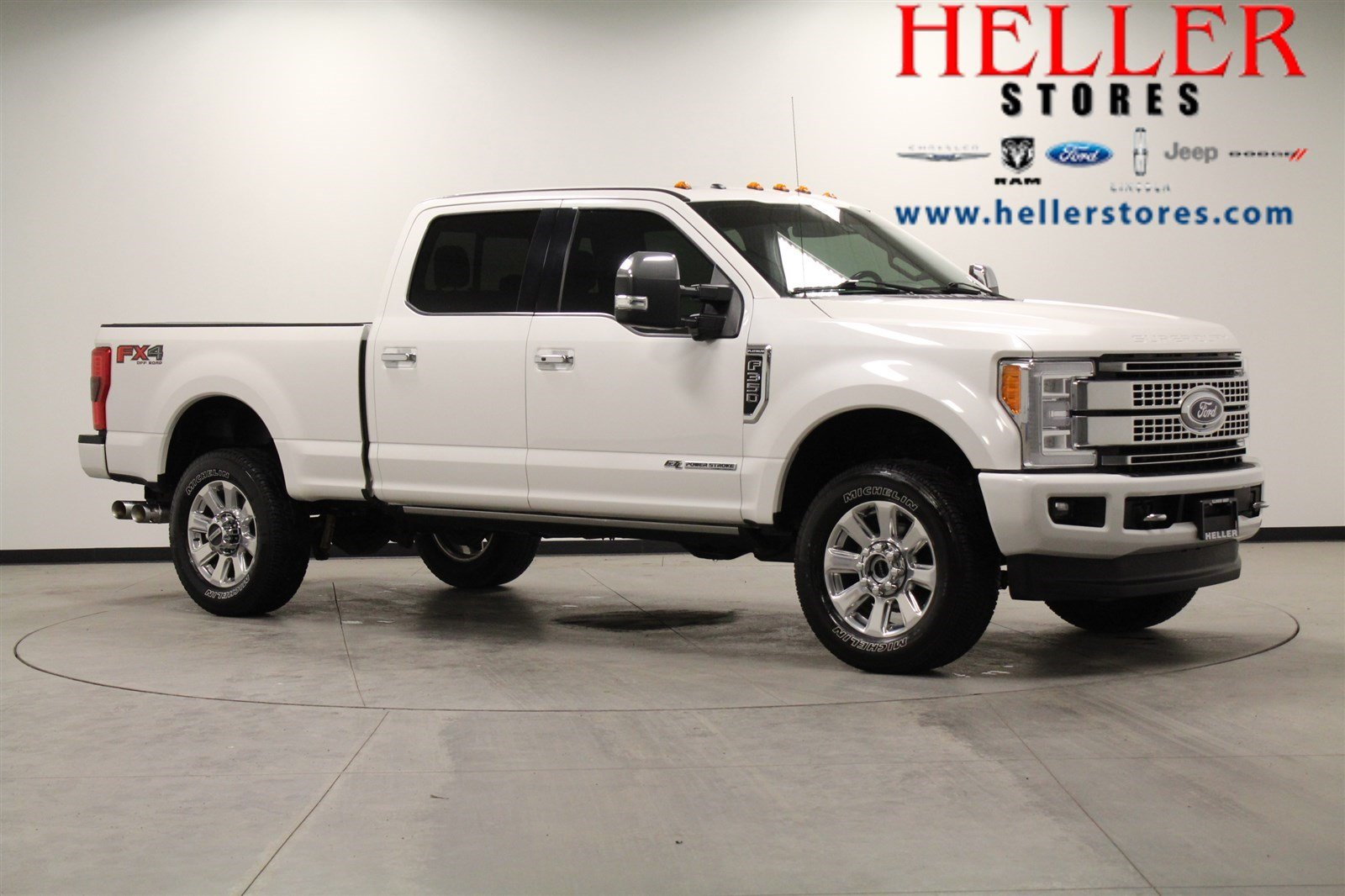 Pre Owned 2017 Ford F 350 Super Duty Platinum