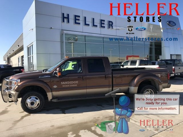 Pre-Owned 2012 Ford Super Duty F-450 DRW King Ranch