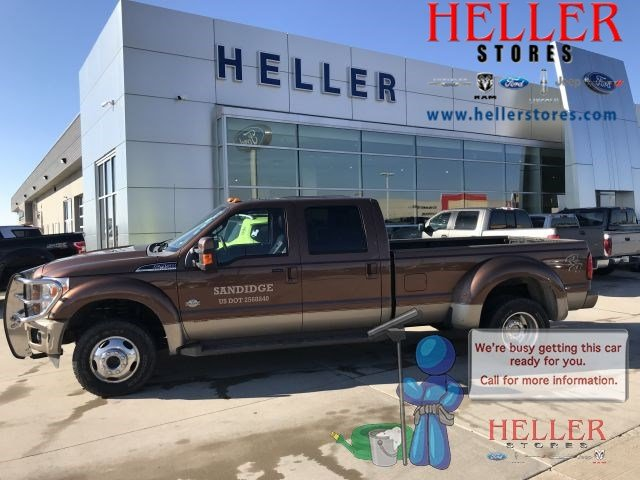 Pre-Owned 2012 Ford F-450 Super Duty King Ranch