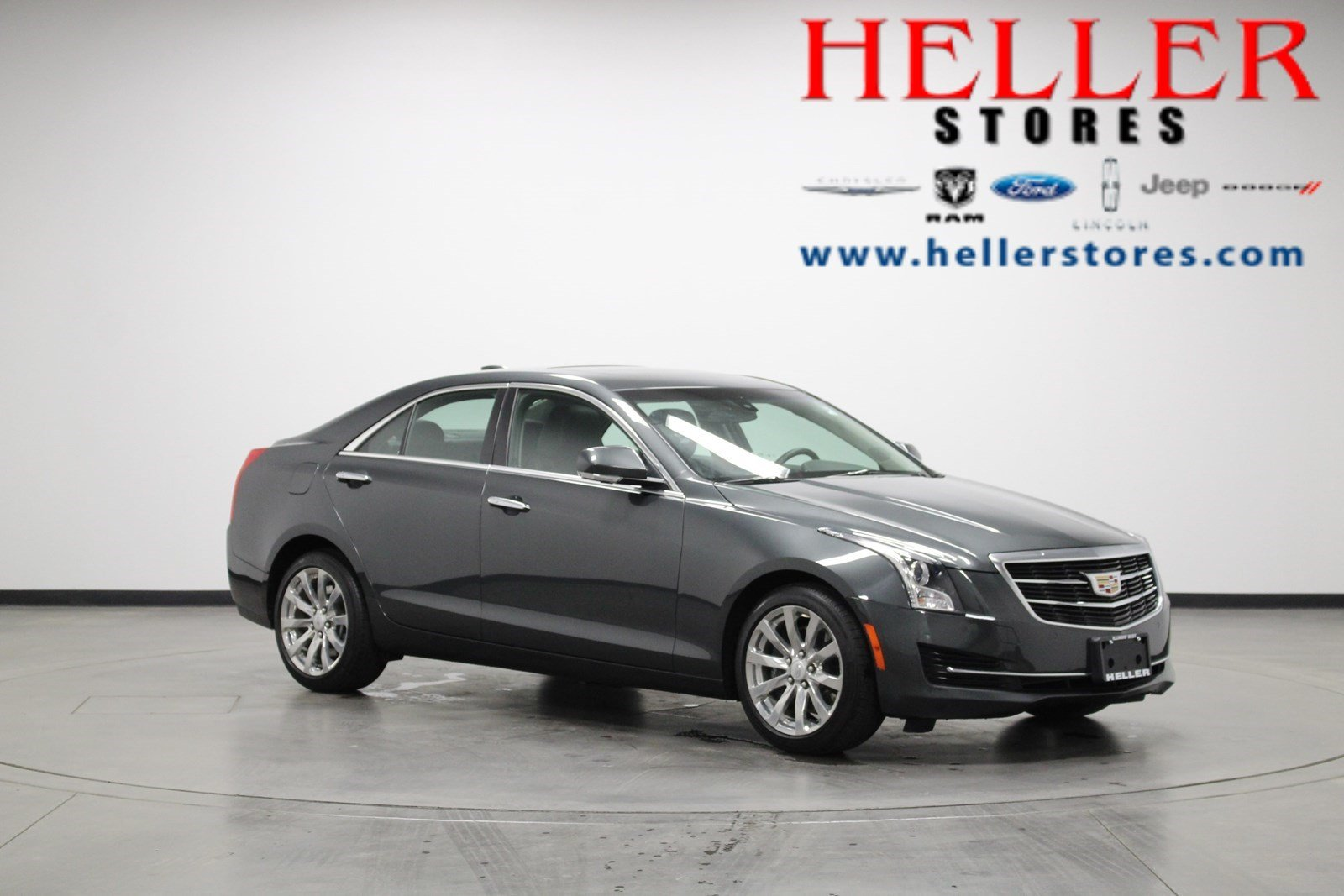 Pre-Owned 2018 Cadillac ATS Sedan Luxury AWD