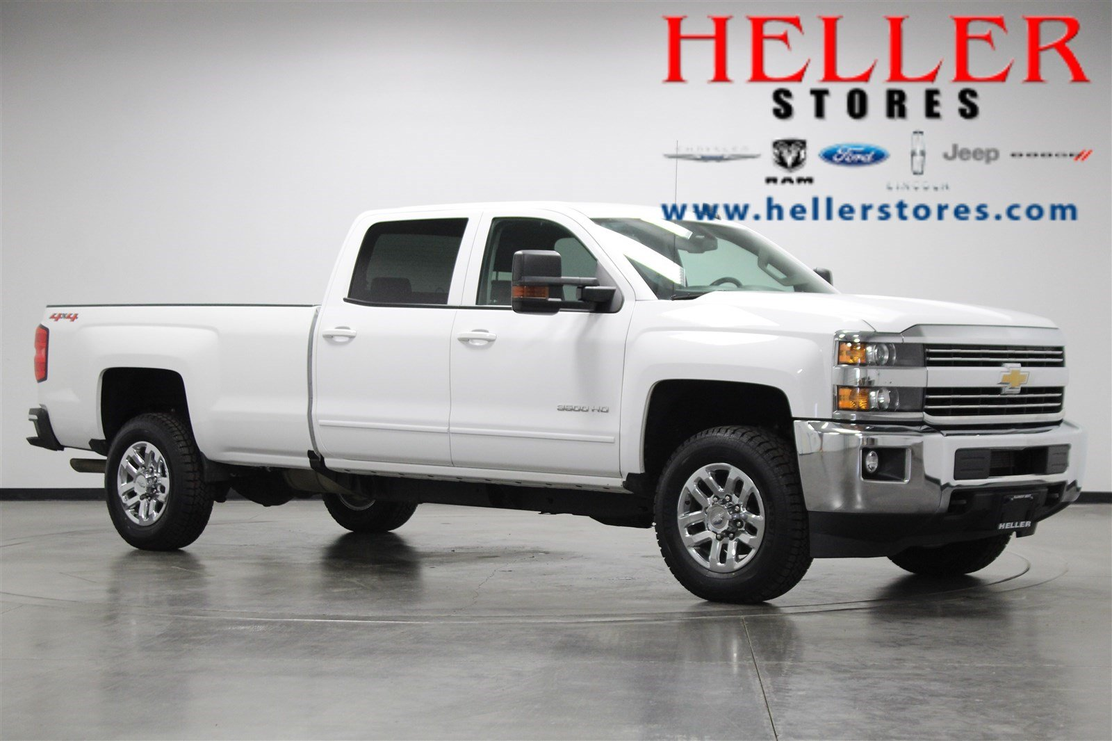 Pre Owned 2017 Chevrolet Silverado 3500hd Lt