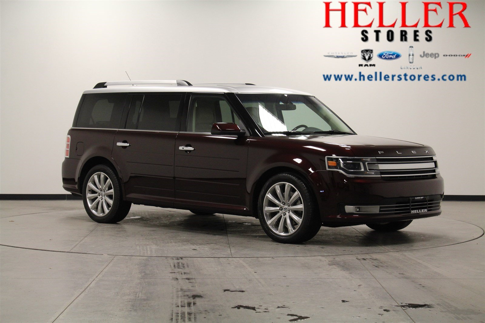 pre-owned 2017 ford flex limited sport utility in pontiac #1801278a