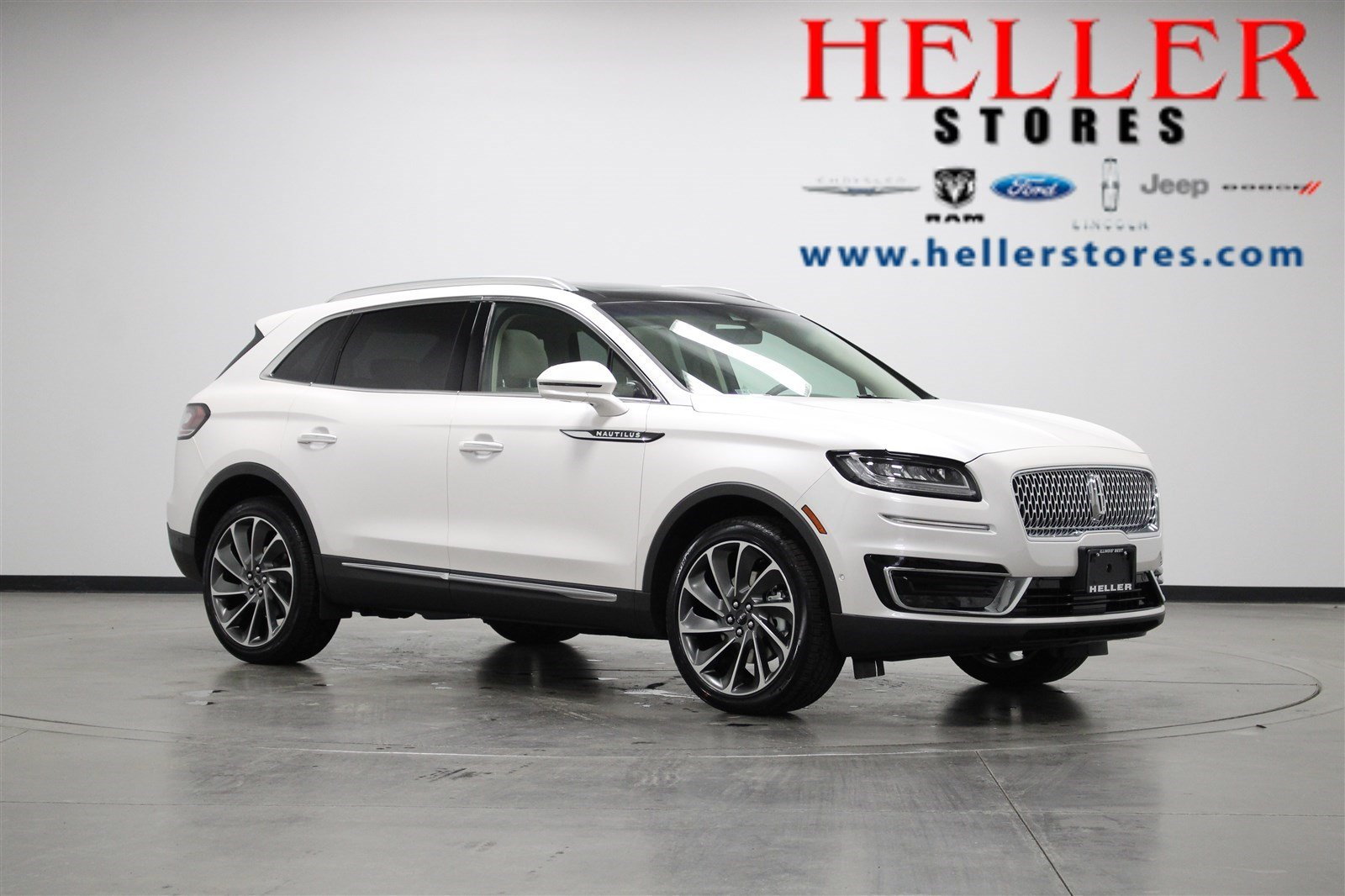 New 2019 Lincoln Nautilus Reserve Sport Utility In Pontiac L19003